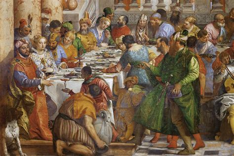 Wedding At Cana Renaissance by How Table Manners As We Them Were A Renaissance Invention