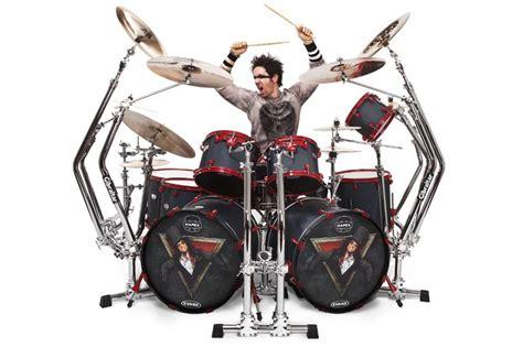 sheck wes drum kit alice cooper s glen sobel uploads drum cam footage johnny