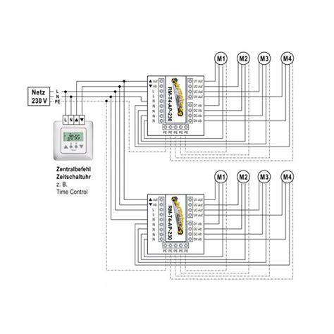 jalousie relais relais trennrelais f 252 r bis zu 4 antrieben o