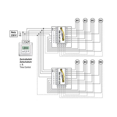 jalousie trennrelais relais trennrelais f 252 r bis zu 4 antrieben o