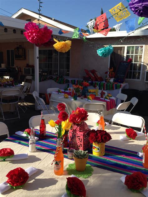 mexican themed events 40th birthday mexican fiesta party being creative