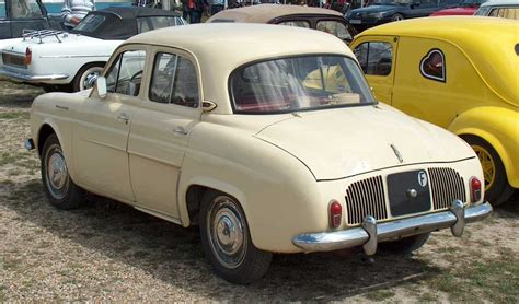renault dauphine renault dauphine technical details history photos on