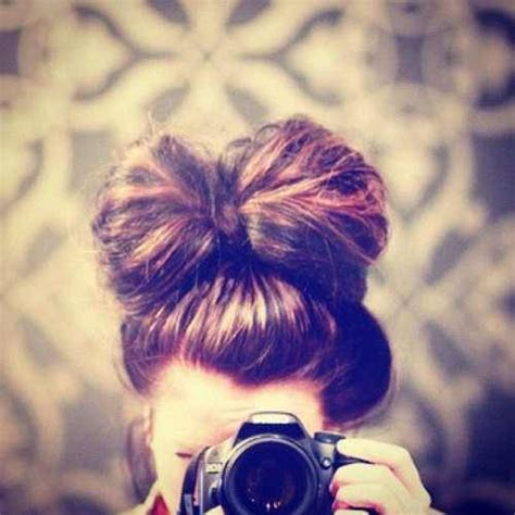 hairstyles buns tumblr tumblr hairstyles messy buns www imgkid com the image