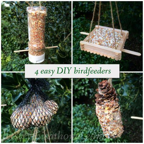 Four Easy Diy Bird Feeders Letstrythisathome Bird Ideas