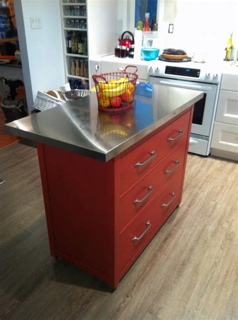 ikea hackers kitchen island home storage pinterest hemnes kitchen island ikea hackers ikea hackers