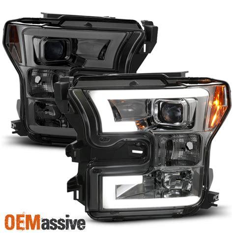 2016 f150 led lights 2015 2016 2017 ford f150 f 150 smoked drl led light