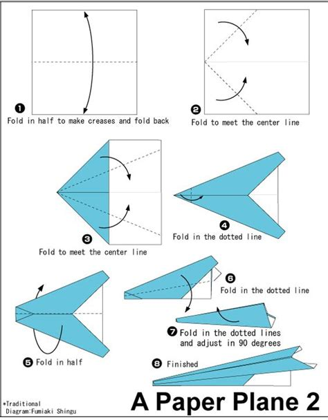 Easy To Make Paper Airplane - origami paper plane 3 easy origami for