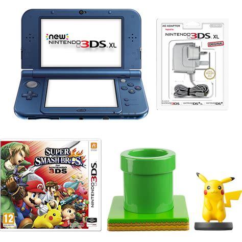Nintendo 3ds Xl Bundle 1716 by New Nintendo 3ds Xl Metallic Blue Smash Bros