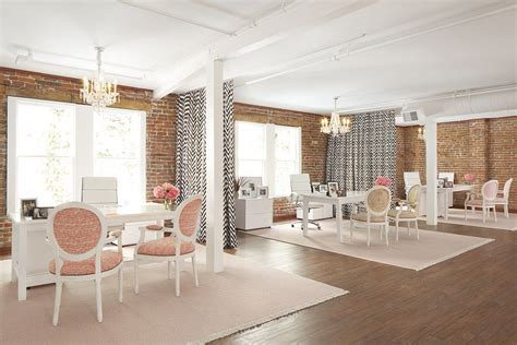 corporate drapes 16 the simple and feminine work look fashionable san francisco office design with rich feminine