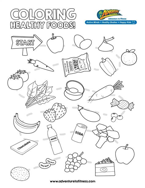 Nutrition Coloring Pages For Kindergarten by Food And Nutrition Worksheets Foodfash Co