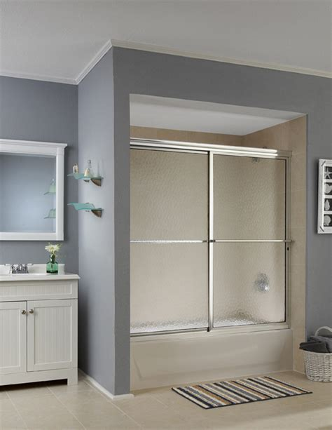 Waterfall Shower Doors Sliding Shower Doors