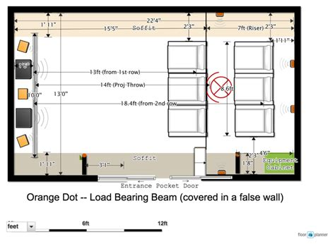 home theater floor plan home theater design floor plan