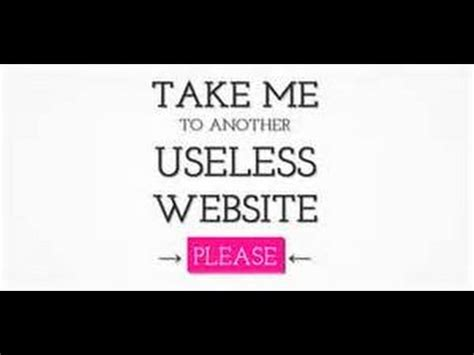 The Useless Web Game - YouTube Useless Websites Game
