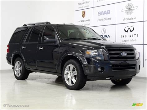 Expedition 6737 Black Silver Blue 2010 tuxedo black ford expedition limited 4x4 54418957