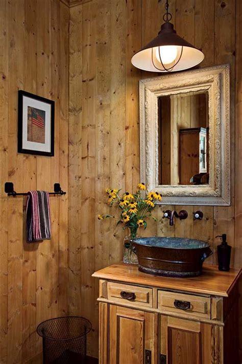 rustic barn bathroom design ideas digsdigs