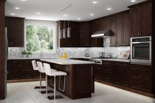 Expresso Kitchen Cabinets by Nc Kitchen Cabinets Shaker Espresso Cabinets Cabinets
