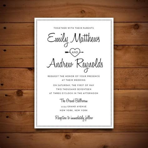 microsoft word wedding invitation templates printable vintage style wedding invitation template