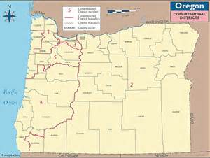 oregon precinct map oregon congressional districts map by maps from maps