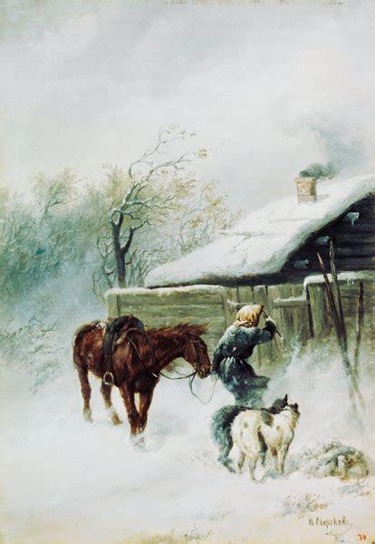 msn lettere letter messenger in the snowstorm nikolai jegorow