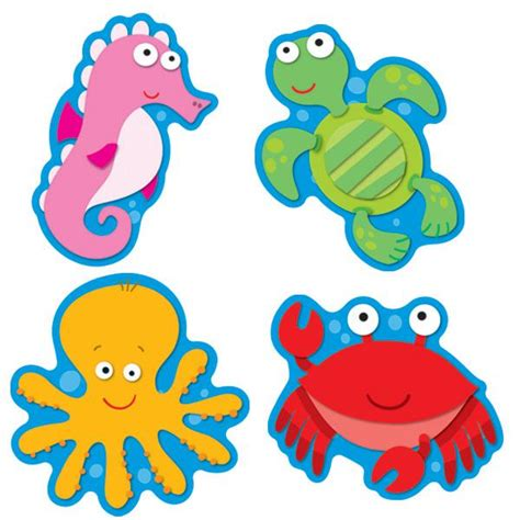 printable under the sea name tags sea life accents cd 120075