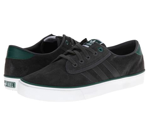 Adidas Slop Canvas Green adidas kiel grey green smart casual mens trainers shoes