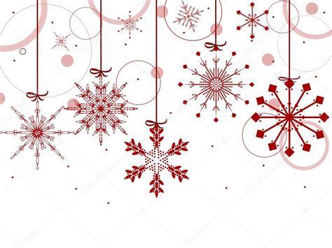imagenes de navidad sin fondo blanco christmas background with red snowflakes stock vector