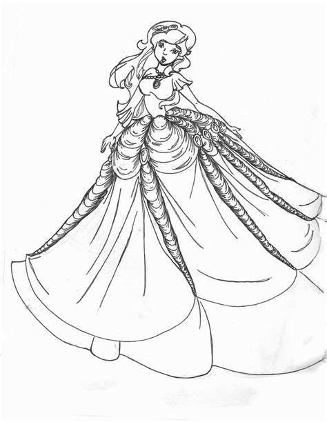 coloring pages of fancy dresses dresses coloring page 1 png 786 215 1016 coloring pages