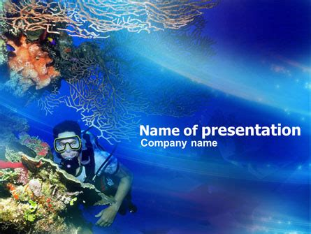 Reef Powerpoint Templates And Backgrounds For Your Marine Ppt Templates Free