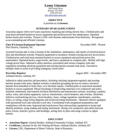 Powerline Worker Cover Letter by 925 Best Exle Resume Cv Images On