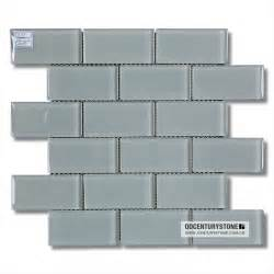 2 quot x4 quot stell grey glossy lowes glass tile kitchen
