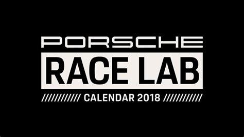 porsche racing logo porsche calendar 2018