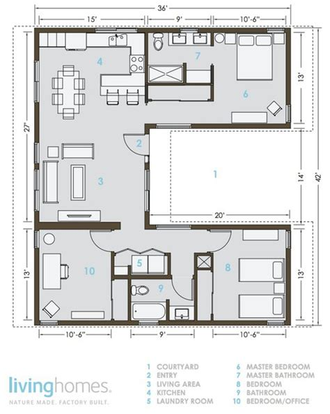 Cabin Floor Plan With Loft by Eco Friendly Houses Living Homes Prefab
