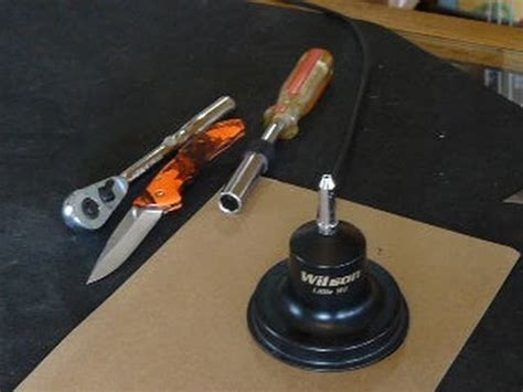 wilson wil cb antenna disassemble and troubleshoot bad swr