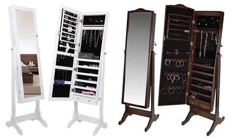 armadio portagioielli fino a 40 su armadio a specchio portagioielli groupon