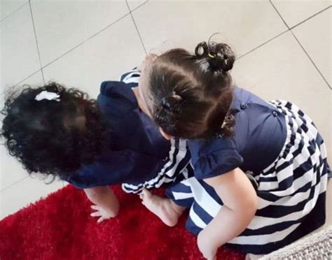 nadia buari and her twins nadia buari shares new photo of growing daughters more