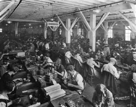 Upholstery Classes Boston Us Social History Factory Workers 1800s