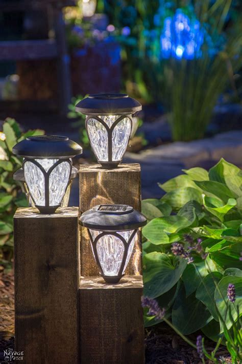 Diy Landscape Lighting Pretty Patio Projects Link Cherished Bliss