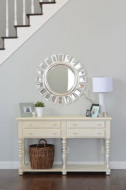 Entrance Way Mirrors Entrance Way Table With Mirror For The Home