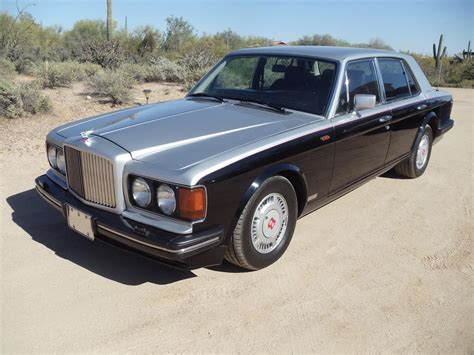 custom bentley 4 door 1991 bentley turbo r 4 door sedan 181611