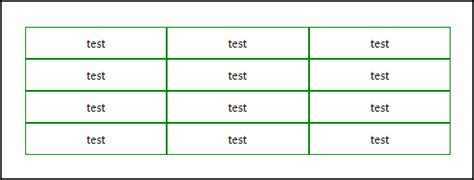 Table Borders by Html Borders Of Relative Positioned Table Cells Ie