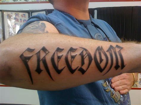 freedom tattoo design atheist tattoos designs pictures page 3