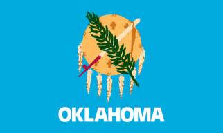 oklahoma state colors oklahoma state flag coloring pages usa for