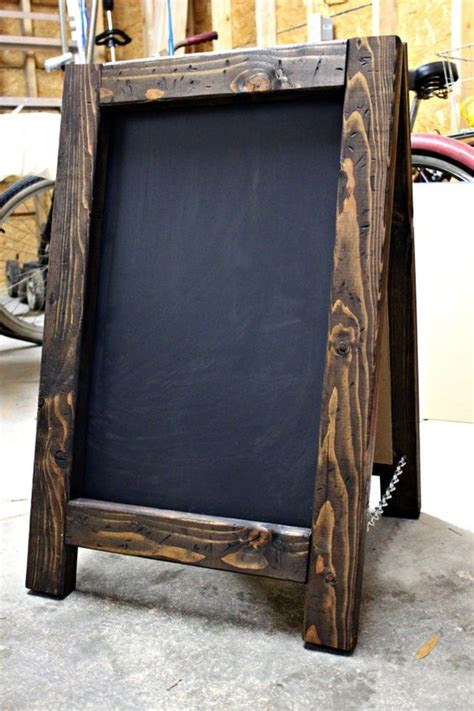 diy chalkboard wood 10 diy chalkboard ideas for decor enter diy