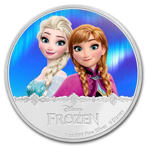 Elsa New 4 Grey 2016 niue 1 oz silver 2 disney frozen elsa new zealand mint disney coin series apmex