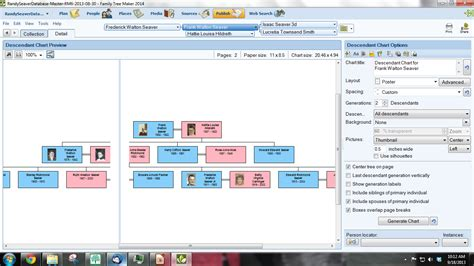 tree map creator family tree chart maker template business
