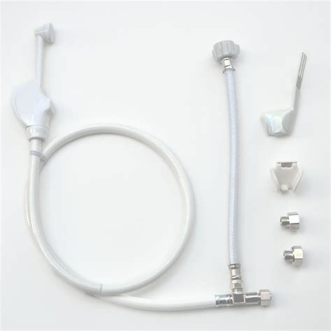 Installing A Bidet Attachment Mrs Bidet White Spray Attachment For Toilet Complete Kit