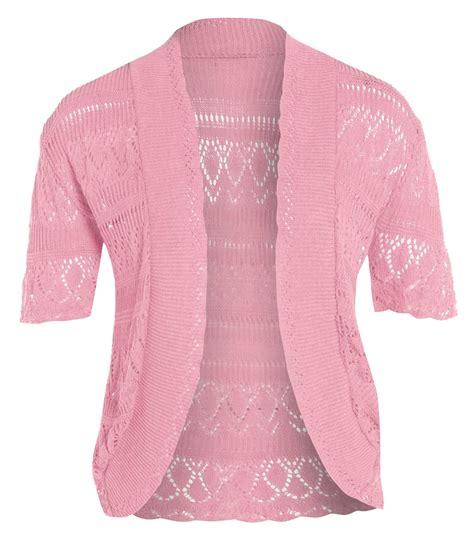 Top Knit 26 new knitted bolero crochet jumper tops 16 26
