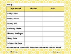 erika brent sage amp zoo weekly menus