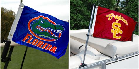 pontoon flags college boat flags at college flags and banners co your