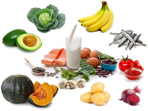 alimenti con magnesio e potassio alimenti con potassio dieta